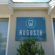 Augusta Family Denistry Building Signage