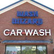 Wash Wizard BUILDING SIGN